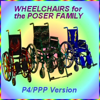 Wheelchairs for P4-PPP